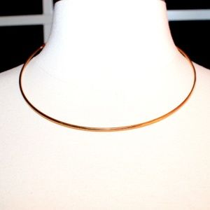 Urban Outfitters Gold Choker Necklace ☆